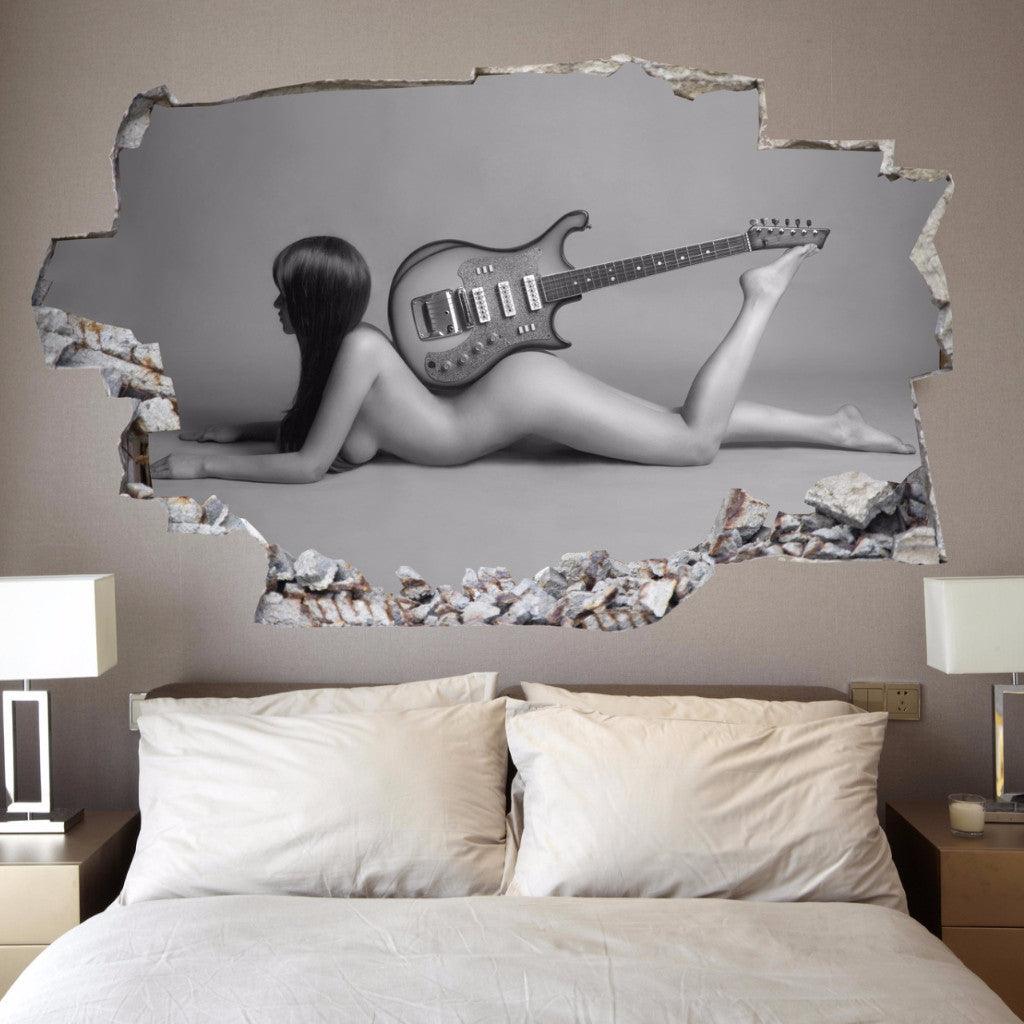 Girl Wall Decals | Wall Stickers | Vinyl 3d | CAB.140