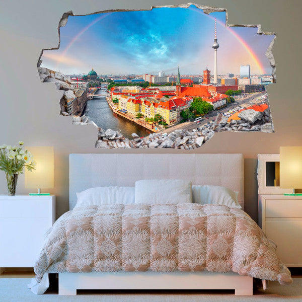 Europe Decals | Europe Wall Stickers | Vinyl 3d | CAB.142