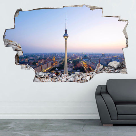 Europe Decals | Europe Wall Stickers | Vinyl 3d | CAB.143