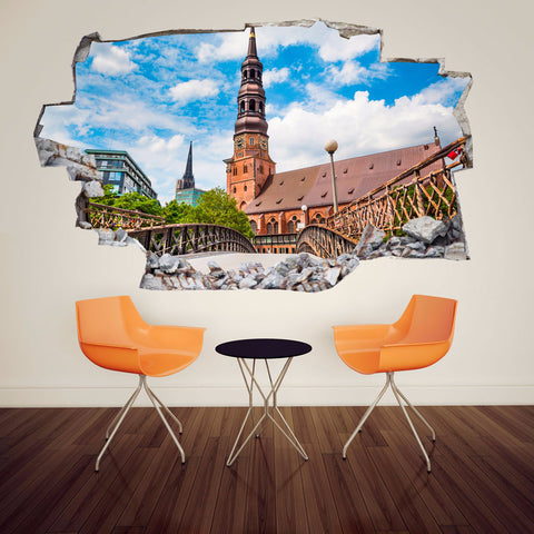 Europe Decals | Europe Wall Stickers | Vinyl 3d | CAB.144