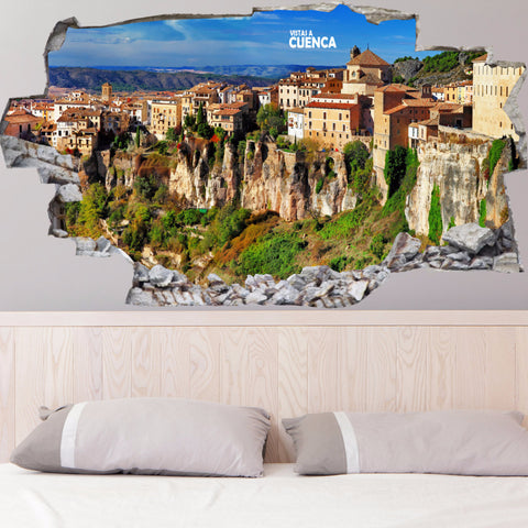 Cuenca Decals | Wall Stickers | Vinyl 3d | CAB.155