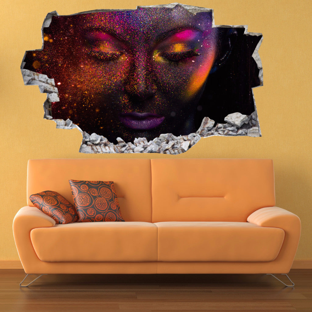 Woman Wall Stickers | 3D Wall Decals | CAB.171
