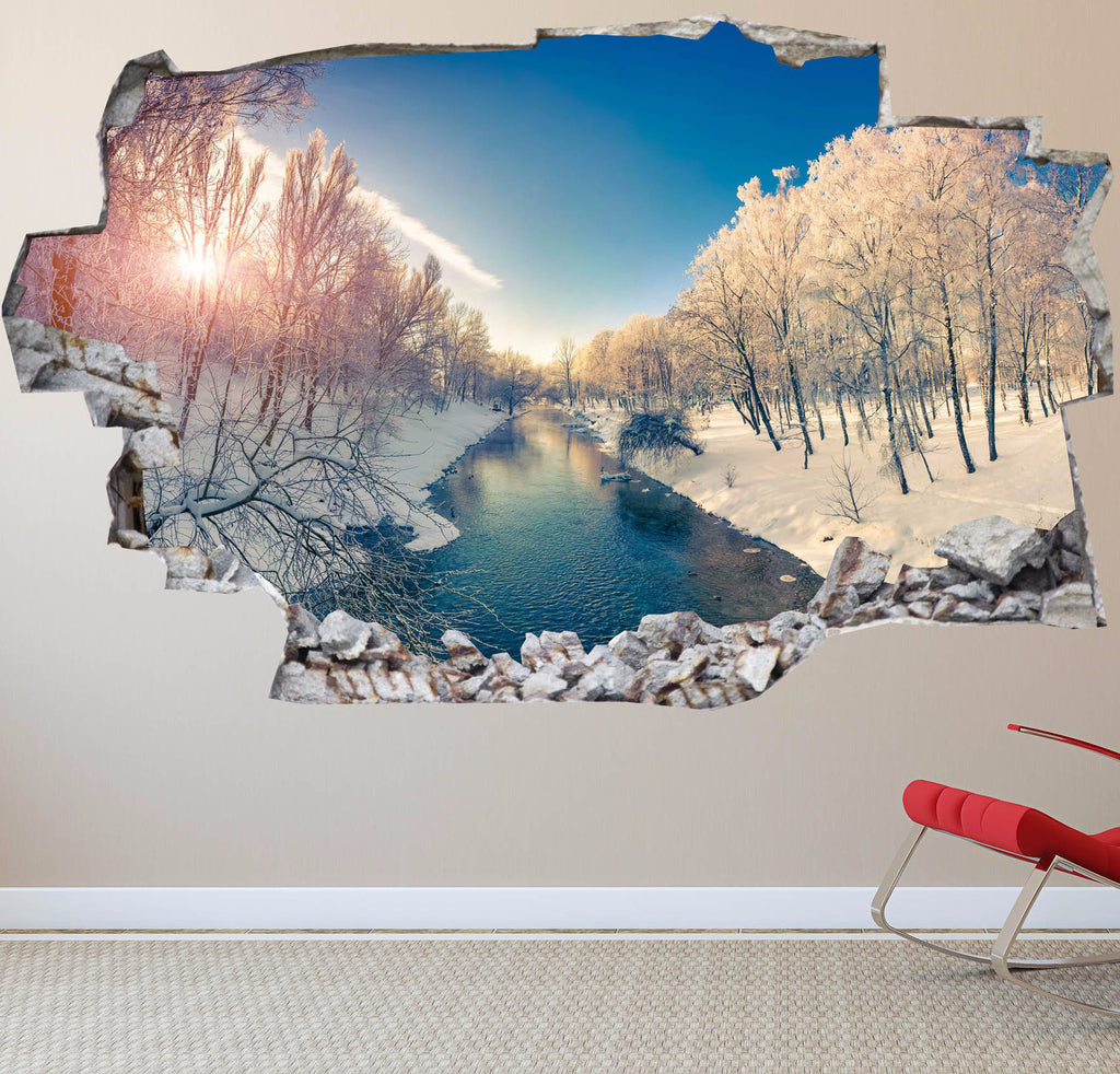 Landscape Wall Stickers | 3D Wall Decals | CAB.179