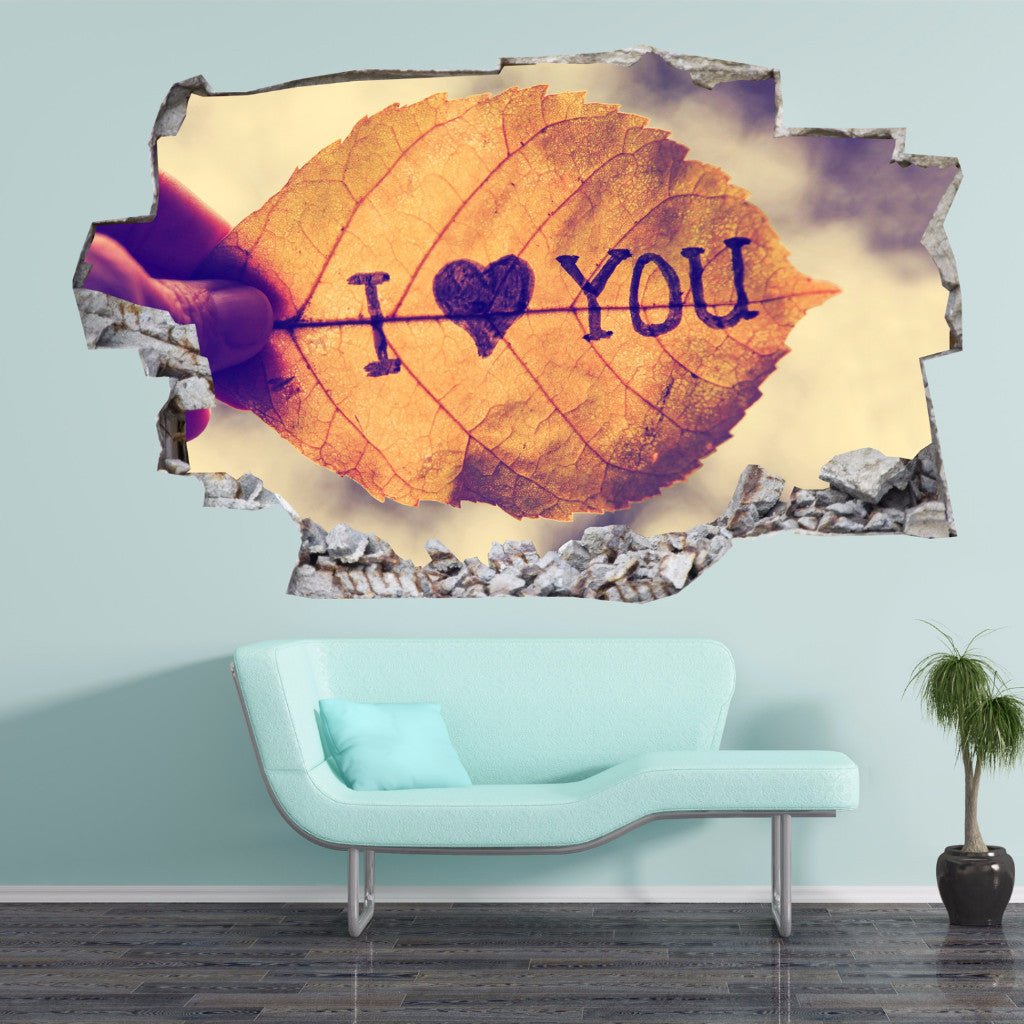 Love Wall Stickers | 3D Wall Decals | CAB.183