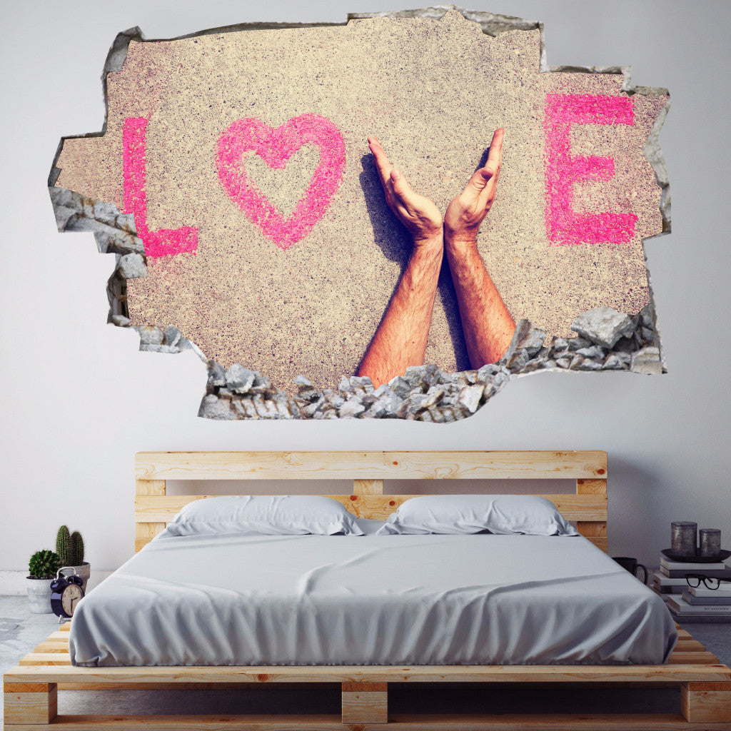 Love Wall Stickers | 3D Wall Decals | CAB.191