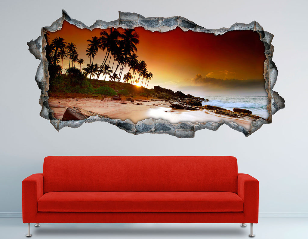 3D Bed HeadBoards Wall decal- Sri Lanka