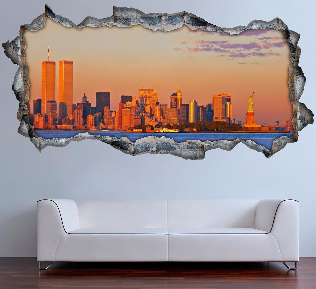 New York Wall Stickers | 3D Wall Decals | CAB.230