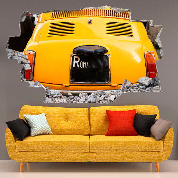 Car Wall Stickers | 3D Wall Decals | CAB.246