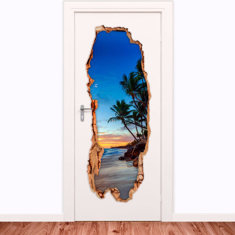 Decorative door vinyl  - Dominican Republic