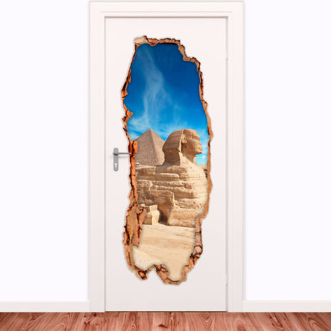 Decorative door vinyl - Egypt