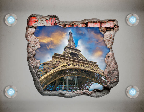 Adhesive Decortavie Ceiling Vinyl - Eiffel Tower