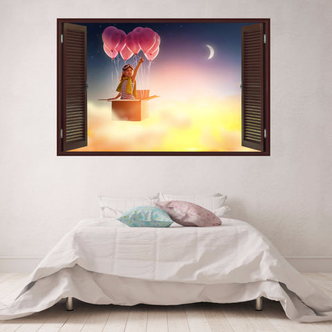 Balloon Wall Decals | Decorative Vinyl | VNTII.127