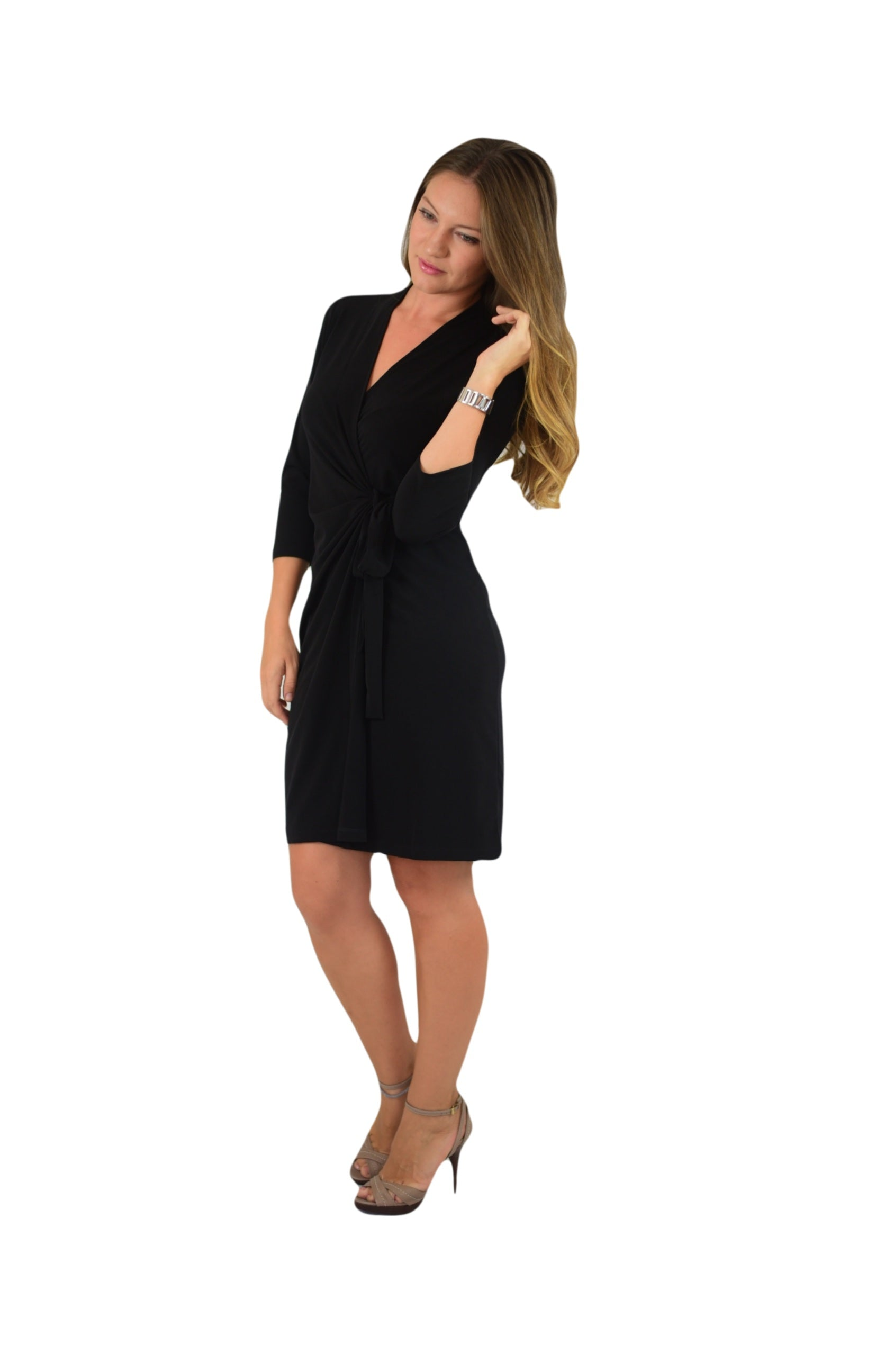 c3d4d325bfbf Classic Black Dresses With Sleeves – DACC
