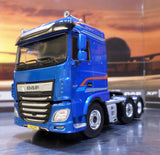 DAF XF Euro 6 Semi Low Deck Model Truck & Trailer 1:50 Scale