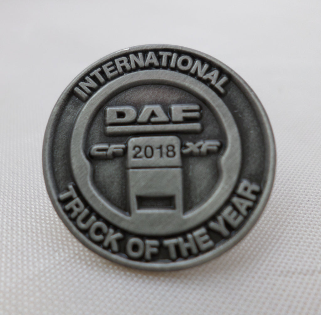 DAF Metal Lapel Pin