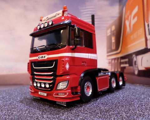 DAF XF Euro 6 Space Cab 1:50 Scale Model Truck