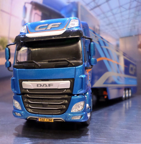 DAF CF New Euro 6 Colour Model Truck & Trailer