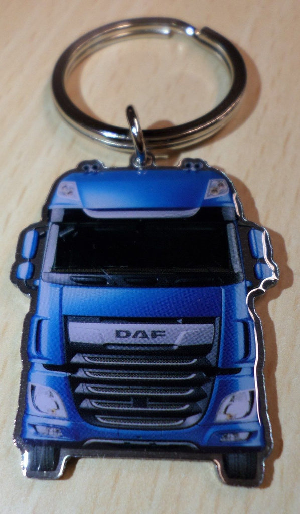 DAF New Euro 6 Metallic Blue Keyring