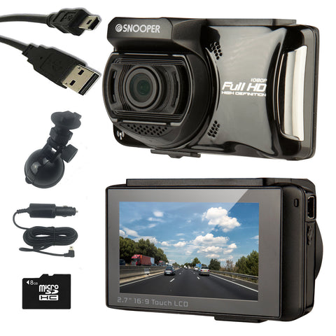 Snooper DVR-4HD Vehicle Drive Recorder HD Dash Camera
