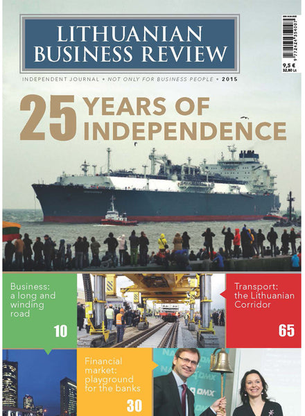 Lithuanian Business Review. 25 Years of Independence