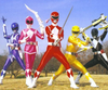 Then and Now: The Mighty Morphin Power Rangers