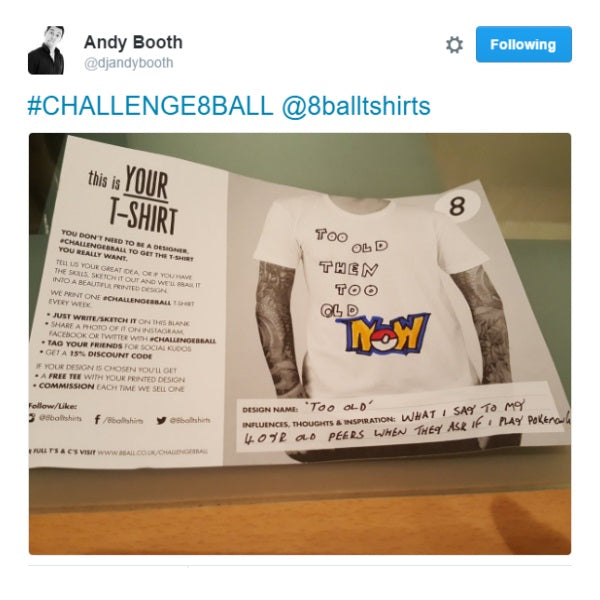Challenge 8ball: And The Winner Is... Andy Tweet