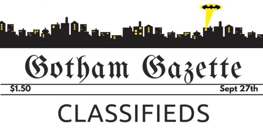 Gotham City Classifieds - Feature