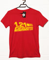Back To The Future Inspired T Shirt - 1.21 Gigawatts