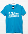 Sale Item - Back To The Future Inspired T Shirt - 1.21 Gigawatts - XL - Sapphire