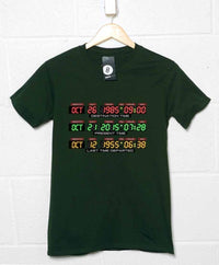 Back To The Future Inspired T Shirt - 2015 Dashboard