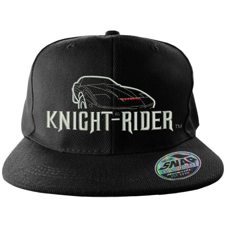 ... Hats Planas Chapeau Flat  outlet store sale 1218b 546fc A throwback  snapback cap with the retro Knight Rider logo. new styles ... e3efbdafb957