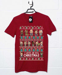 80s Movie Christmas T Shirt