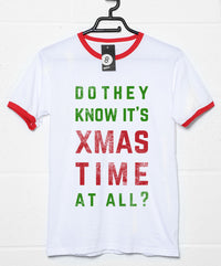 Do They Know it's Xmas Time - Christmas Slogan T Shirt