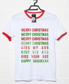 Merry Christmas Kiss My Ass T Shirt