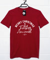Christmas Slogan Filthy Animal T Shirt
