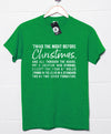 'Twas the Night Before Christmas - Theo Quote T Shirt