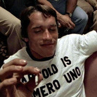 As Worn By Arnold Schwarzenegger T Shirt - Numero Uno - 8Ball