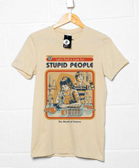 Official Steven Rhodes A Cure For Stupid People T Shirt