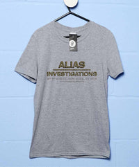Alias Investigations T Shirt - Inspired By Jessica Jones - 8Ball