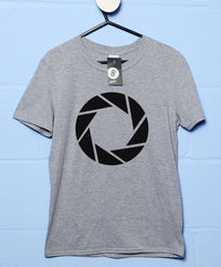 Aperture Science Logo T Shirt - Inspired By Portal