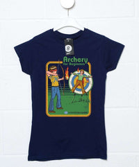 Official Steven Rhodes Archery for Beginners Women's T-Shirt