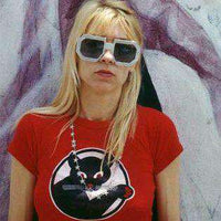 As Worn By Kim Gordon Womens T Shirt - Pussycat