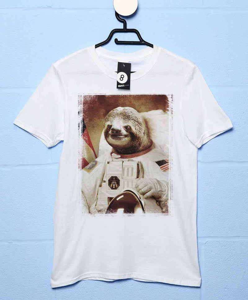 11a6af46 Astronaut Sloth T Shirt | 8Ball T Shirts