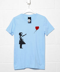 Banksy T Shirt - Balloon Girl