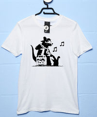 Banksy T Shirt - Ghetto Rat