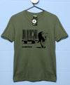 Banksy T Shirt - Barcode Big Cat