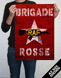 The Clash - Brigade Rosse Oversize Art Print