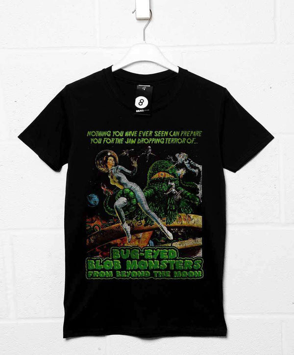 89809afea2365 Deathray B Movie T Shirt - Blob Monsters