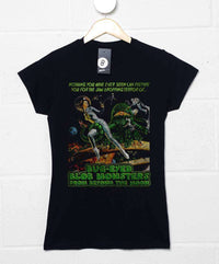Deathray B Movie T Shirt - Blob Monsters Womens