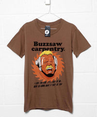 Buzzsaw Carpentry T Shirt